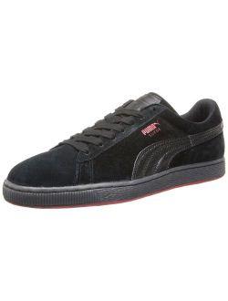 Men's Suede Classic Plus Rebel Mix Casual Sneaker