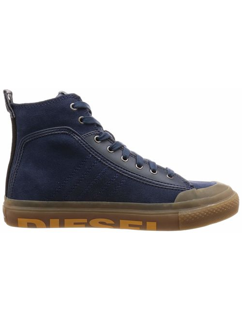 Diesel Men's S-astico Mc Logo-Sneaker Mid