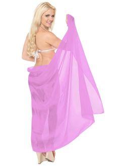 Basic Plain Beach WEar Cover ups Sarong Wrap Boho Plain Dresses REsort Pool Wear