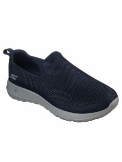 Mens Go Walk Max-athletic Air Mesh Slip On Walking Shoe,navy/gray,13 Eee Us
