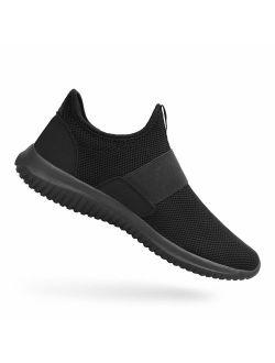 Feetmat Mens Tennis Shoes Slip On Running Gym Shoes Balenciaga Look Fashion Sneakers