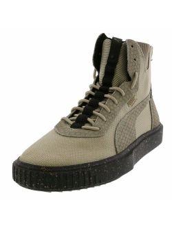 Men's Breaker Hi Blocked High-top Leather Sneaker