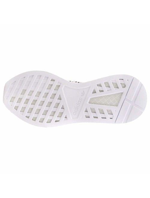 adidas Mens Deerupt Runner Casual Sneakers, Black;Green, 10