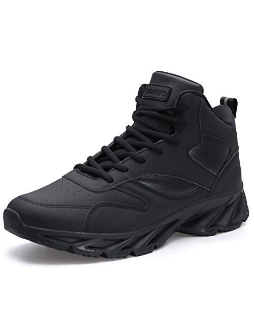 JOOMRA Men's Stylish Sneakers High Top Athletic Inspired Shoes