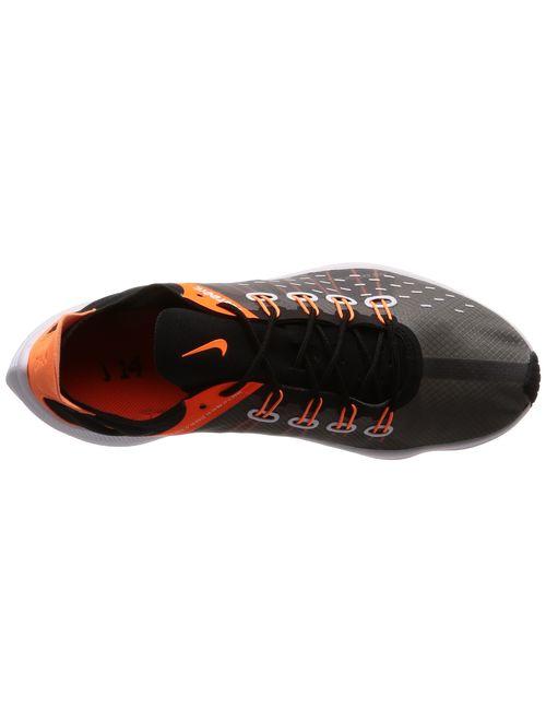 Nike Men's Exp-x14 Black, Grey and Orange Sneaker 45(EU)-11(US) Multicolour