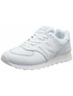 Men's 574v2 Sneaker, White/white, 4 2e Us