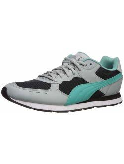 Vista Sneaker High Rise Black-blue Turquoise, 10 M Us