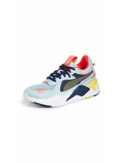 Synthetic Lace Up Colorful Sneaker