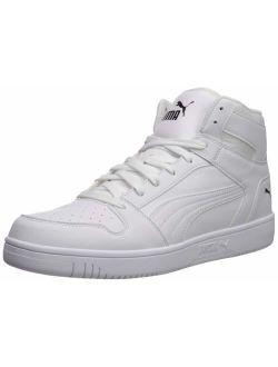 Rebound Layup Sneaker, White Black, 6.5 M Us