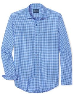 Amazon Brand - BUTTONED DOWN Men's Tailored Fit Supima Cotton Dress Casual Shirt