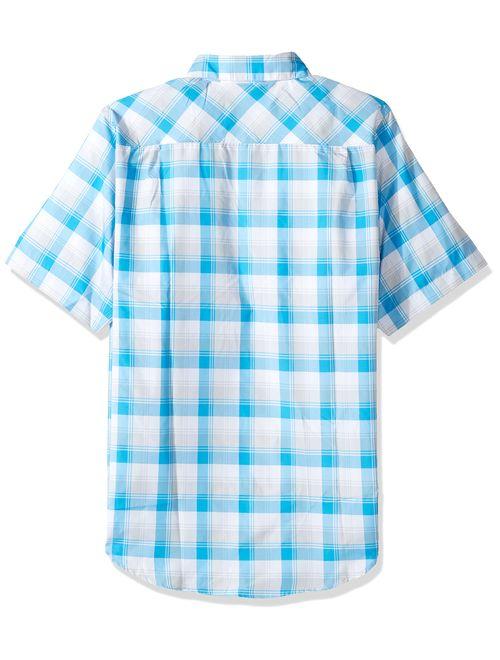 Under Armour Men's Chesapeake 2 Short Sleeve Plaid Shirt