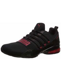 Mens Cell Regluate Camo Sneaker - Black/red