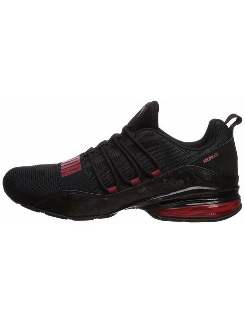 PUMA Mens Cell Regluate Camo Sneaker - Black/Red
