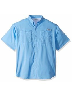 Men's Tamiami Ii Short Sleeve Shirt, White Cap, X-large