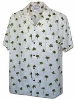 Classic Hawaiian Palm Trees Men's Tropical Shirts