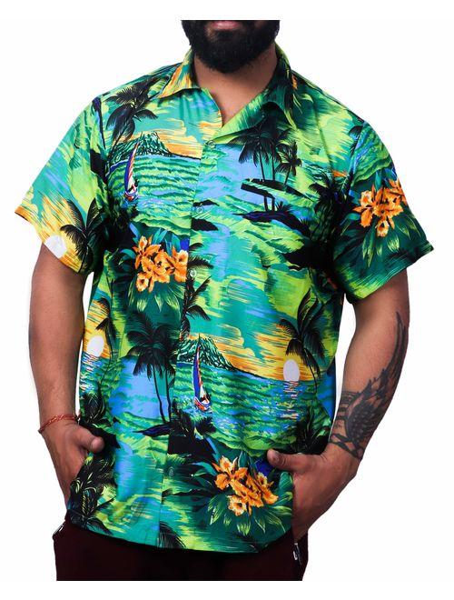 Virgin Crafts Mens Hawaiian Shirt