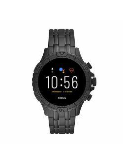 Gen 5 Garrett Stainless Steel Touchscreen Smartwatch With Speaker, Heart Rate, Gps, Nfc, And Smartphone Notifications