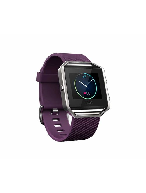 Fitbit Blaze Smart Fitness Watch, Black/Silver
