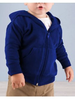 Rabbit Skins Infant Zip Fleece Hoodie 3446