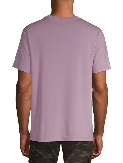 George Men's and Big Men's Short Sleeve Solid Crew Tee, Up To Size 3XL