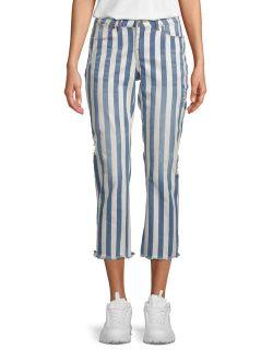 Women's Bold Stripe Skinny Jean