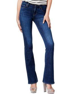 Hudson Womens Drew Mid-Rise Trance Wash Bootcut Jeans Blue 26