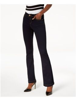 INC Womens Navy Boot Cut Jeans Petites Size: 0