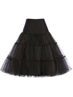 "Women's 50s Petticoat Crinoline Vintage Tutu Underskirt 26"""