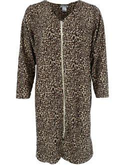 Elegant Emily Zip Front Micro Fleece Duster Robe (Women's)