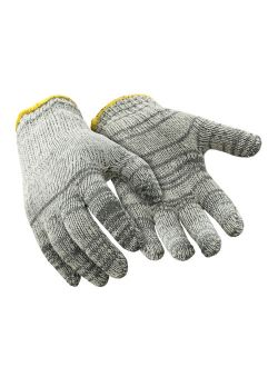 RefrigiWear Lightweight String Knit Glove Liners, Multicolor Grey - PACK OF 12 PAIRS