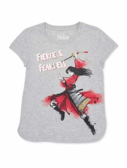 Mulan Girls 4-18 & Plus Girls Are The Future Graphic T-shirt