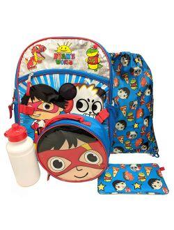 """Ryans World 16"""" Backpack 5pc Set"""