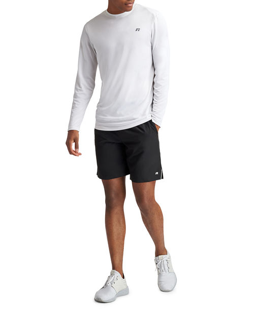 """Russell Men's Performance 9"""" 2-in-1 Stretch Woven Short with Boxer Liner"""