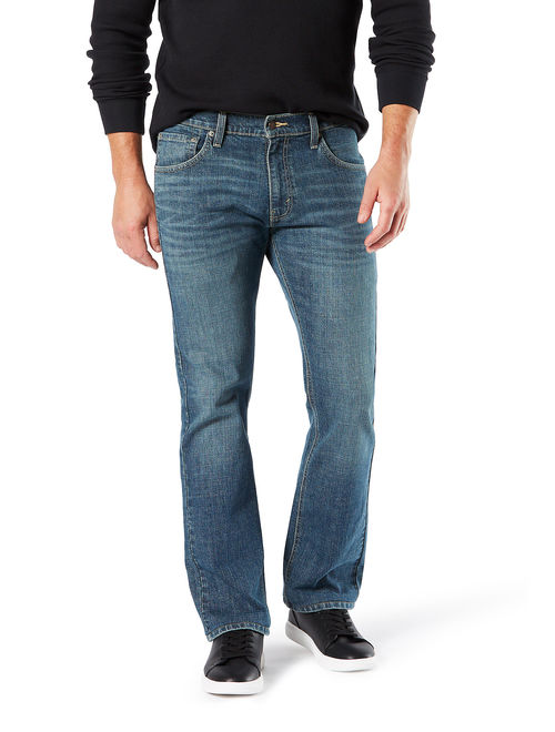 Signature by Levi Strauss & Co. Men's Big and Tall Relaxed Fit Jeans