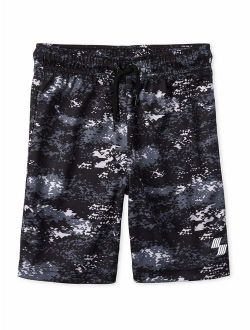 Boys 4-16 Camo Printed Mesh Shorts