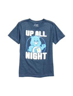 Care Bears T-Shirt - Up All Night Blue (Toddler)