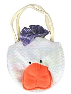Plush Duck Little Girl Handbag Purse