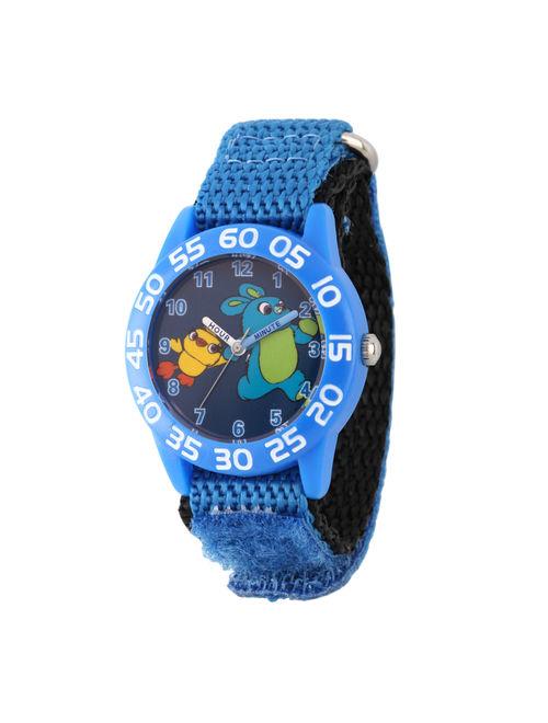 Disney Toy Story 4 Bunny Ducky Boys' Blue Plastic Watch, 1-Pack