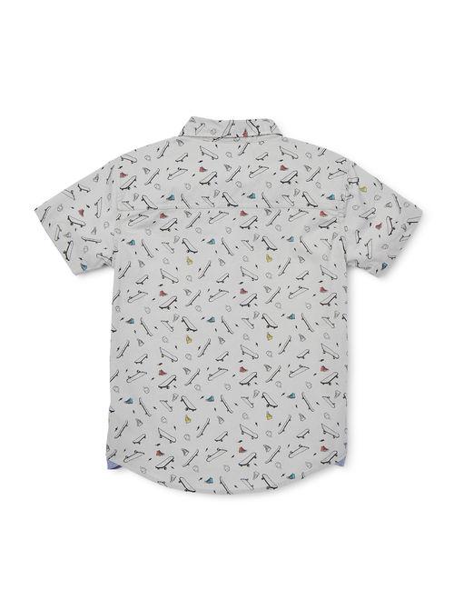 Tony Hawk Boys 4-16 Printed T-Shirt & Graphic T-Shirt Bundle, 2-Pack