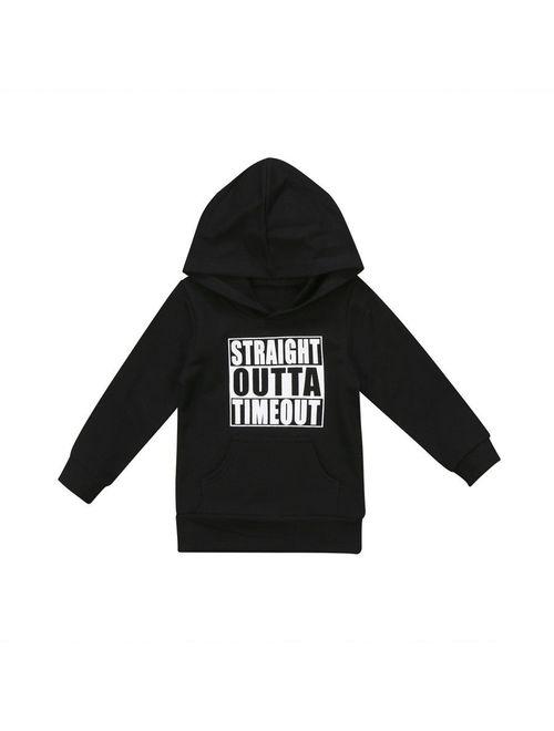 Canis Toddler Newborn Kids Baby Boy Girl Hoodie Tops Hooded Sweatshirt Outdoor 0-5Y