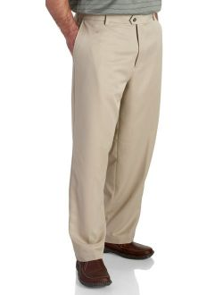 Men's Golf Microsanded Flat Front Classic Fit Pant