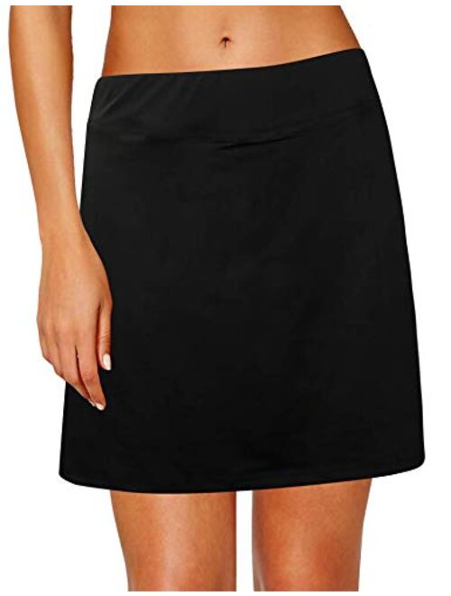 Xioker Women Athletic Skirts for Tennis Lightweight,Golf Skorts with Pockets/&Active Running Skirts