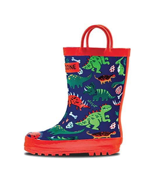 LONECONE Rain Boots Toddlers and Kids