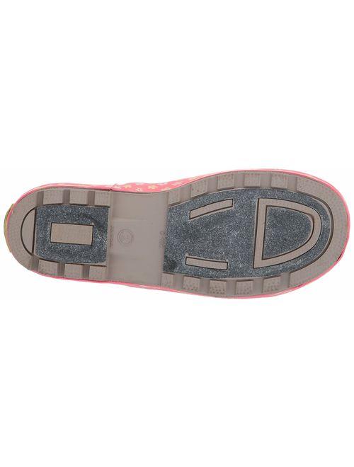 Western Chief Kids Girls' Waterproof Easy-On Printed Rain Boot