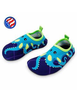 Bigib Toddler Kids Swim Water Shoes Quick Dry Non-Slip for BoysGirlsToddler