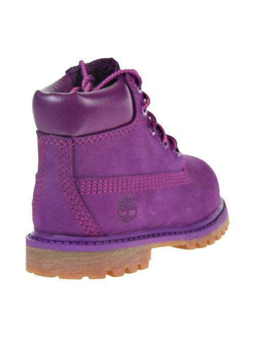 """Timberland Kids Girl's 6"""" Premium Waterproof Boot Limited Edition (Toddler/Little Kid)"""