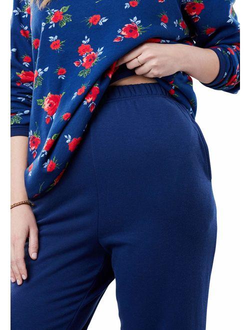 Woman Within Women's Plus Size Fleece Sweatsuit
