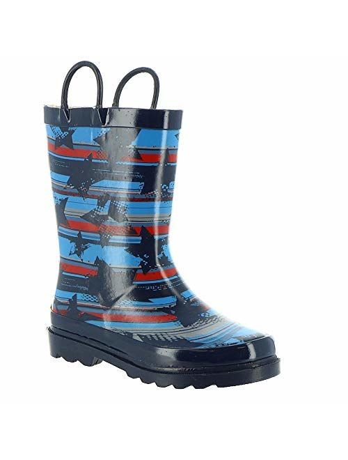 Western Chief Kids Unisex Limited Edition Printed Rain Boots (Toddler/Little Kid/Big Kid)