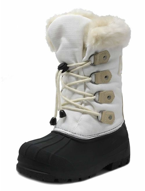 DREAM PAIRS Boys & Girls Toddler/Little Kid/Big Kid Knee High Winter Snow Boots
