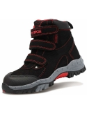 Littleplum Kids Hiking Boots Boys Waterproof Snow Boots Winter Boots for Girl Sneaker